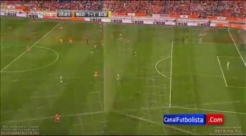Holanda  vs. Ecuador