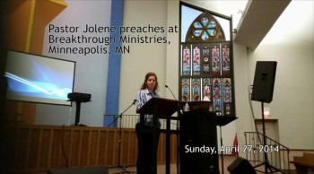 Jolene's First Preach