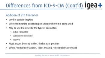 ICD-10 Webinar for Home Healthcare Agencies