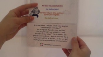 10 Commandments Card for Kids by Memory Cross