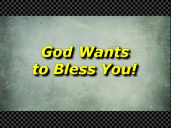 God Wants to Bless You! - Randy Winemiller