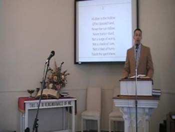 "Congregational Hymn: ""Like a River Glorious,"" First OPC Perkasie PA 6/08/14"