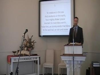 """Praise Ye, Praise Ye the Lord!"" Trinity Hymnal, First OPC Perkasie PA 6/15/2014"