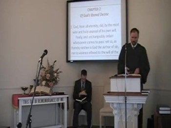 """God's Eternal Decree,"" WCF 3:1, Rev. R S MacLaren, First OPC Perkasie, PA"