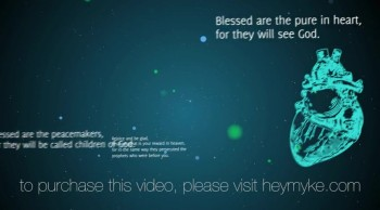 The (be)Atitudes - Church Media - Sermon Illustration Package
