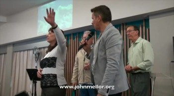 Painful frozen shoulder miracle healing - John Mellor Healing Ministry