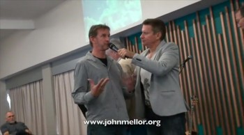 Painful jet ski neck and spine injury healing - John Mellor Healing Ministry
