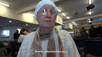 Pancreatic cancer sufferer powerfully touched by God - John Mellor Healing Ministry
