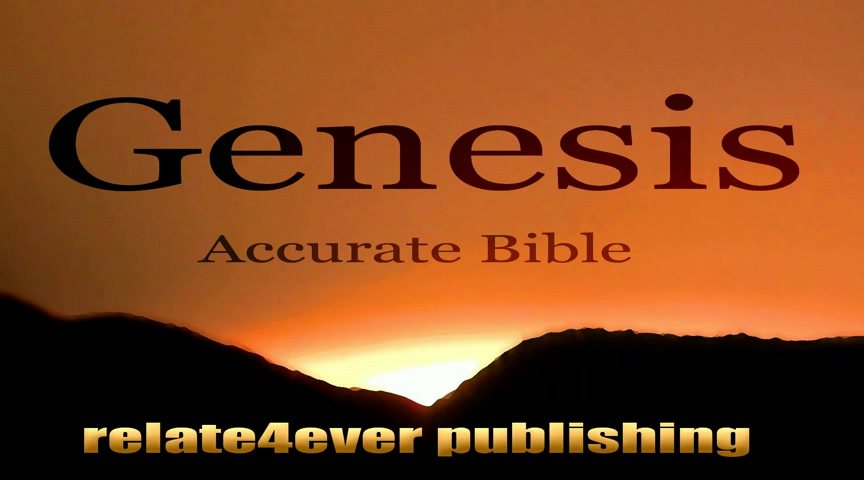 Genesis 13 ABV Accurate Bible Version