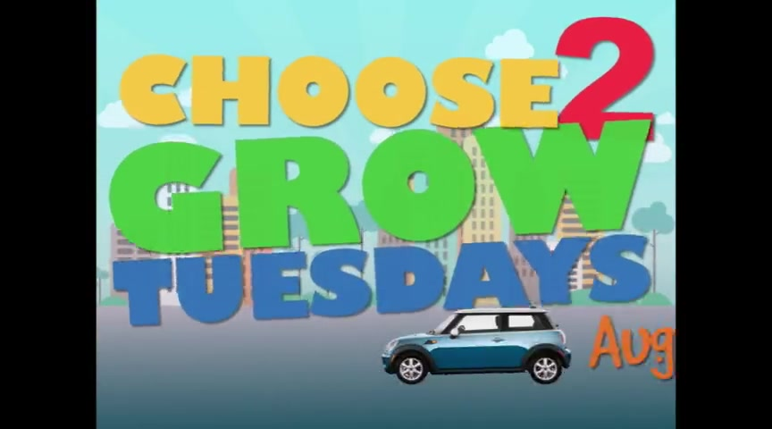 CHOOSE TO GROW TUESDAYS