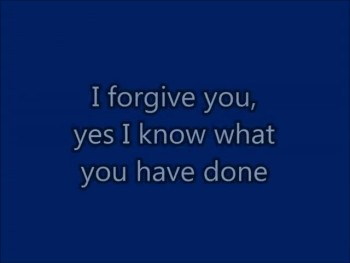 God Says I Forgive You (Original) Lyrics