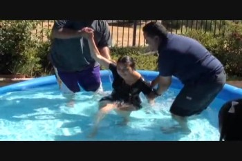Baptism.Freedom House Church.