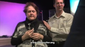 Blind lady with diabetic retinopathy healed and sees