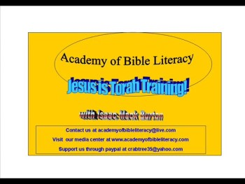 Belly Christians - Jesus is Torah Training! - Genesis 12