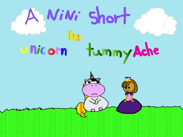 The Unicorn Tummy Ache - NiNi Short