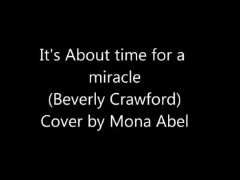 It's about time for a miracle - Beverly Crawford cover