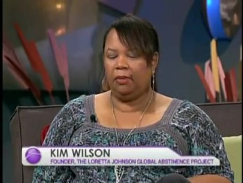 Kim Wilson Talks About Abstinence on The Harvest Show