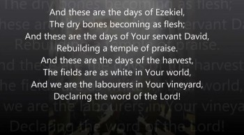 Days Of Elijah w/ Lyrics (Video for the Persecuted Church)