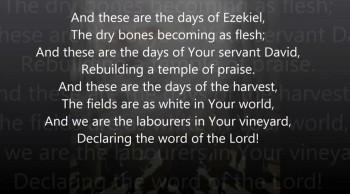 Days Of Elijah w/ Lyrics (Video for the Persecuted Church)