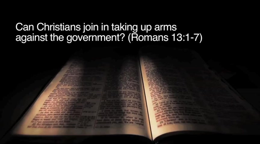Can Christians Take up Arms against the Government? (Romans 13:1–7)