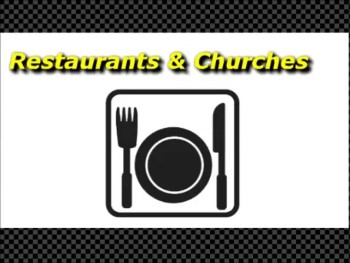 Restaurants & Churches - Guest Speaker - Ron Fulton Jr