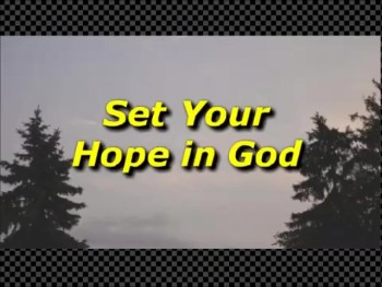 Set Your Hope in God - Randy Winemiller