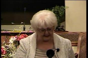 "DBS  – ""Dean Burgon Society 2014 Ladies' Meeting"" -- Shirley Hughes"