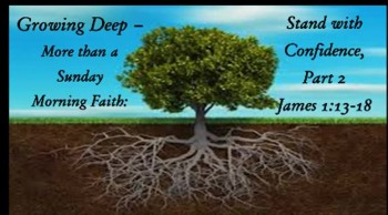 Growing Deep-More Than a Sunday Morning Faith: Stand with Confidence Against Deadly Temptation