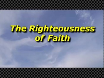 The Righteousness of Faith - Randy Winemiller