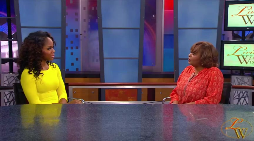 Sarah Jakes on Living Wisely Show