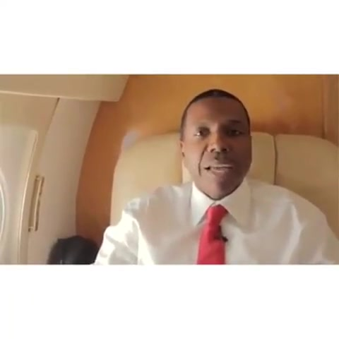 Creflo Dollar Just touched down in Kenya