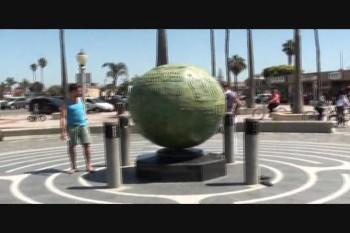 Daniel e Paulo em Huntington Beach