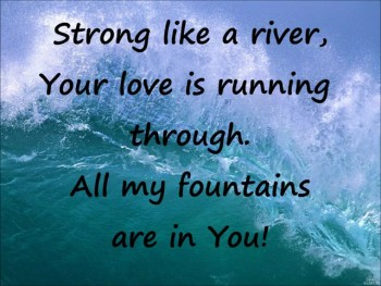 All My Fountains lyrics video