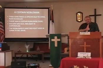 """""""Jesus Heals the Nobleman's Son"""""""
