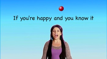 If You're Happy and You Know It - Nursery Rhyme with Lyrics for Children