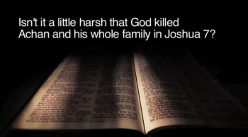 BibleStudyTools.com: Isn't it a little harsh that God killed Achan and his whole family in Joshua 7? - Melissa Kruger