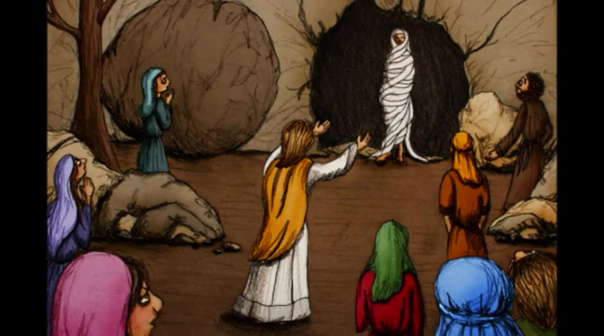 EVEN NOW - New song about the raising of Lazarus