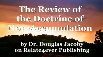 The Review of the Doctrine of Non-Accumulation by Douglas Jacoby