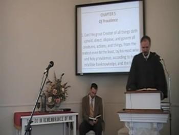 """God's Providence,"" WCF 5:1, Rev. R. Scott MacLaren First OPC Perkasie PA"