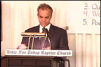 Part 2 -- BFTBC – History of Fundamentalism Class #4 –The American Bible and Prophetic Conferences