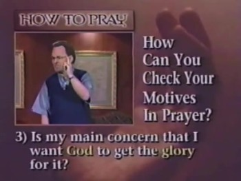 How To Pray 4 - Barriers To Prayer - Ronnie Floyd