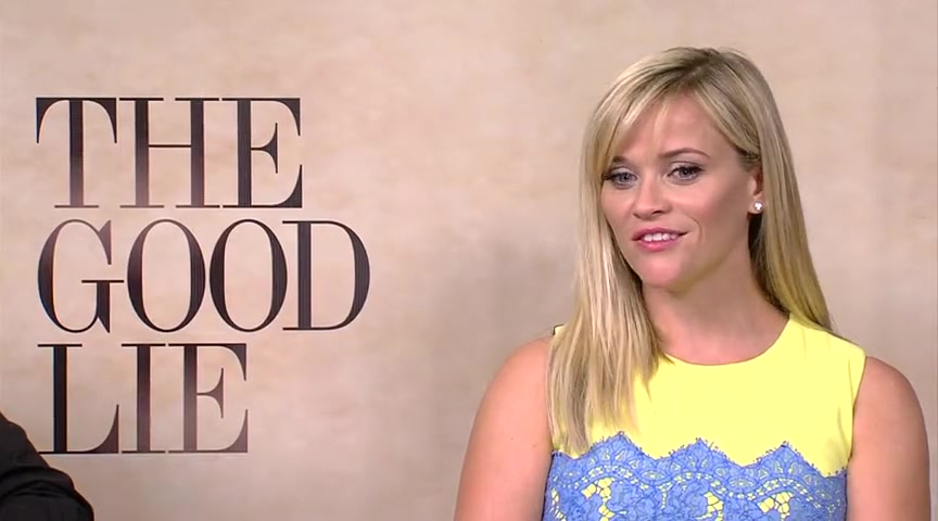 Reese Witherspoon Talks about 'The Good Lie'