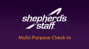 Multi-Purpose Check-In—New in Shepherd's Staff 2014!