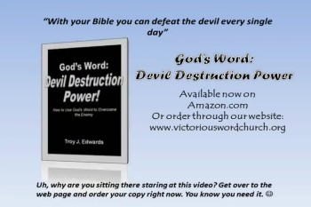 Book: God's Word: Devil Destruction Power
