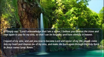 How to be Born Again?