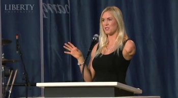 Bethany Hamilton - Liberty University Convocation