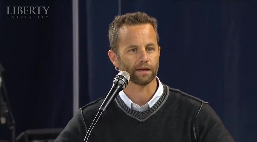 Kirk Cameron - Liberty University Convocation