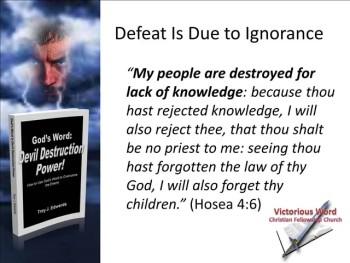 God's Word: Devil Destruction Power (Part 1)