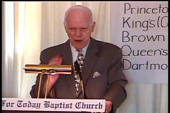 "Part 2 -- BFTBC – ""The Day of The Lord's Events"" – Pastor D. A. Waite"