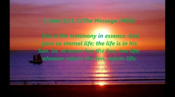 God gave us eternal life